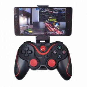 Tay cầm chơi game Kèm giá đỡ Bluetooth Terios T3
