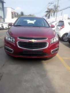 Chevrolet cruze LT mới màu đỏ - Xe kinh doanh...