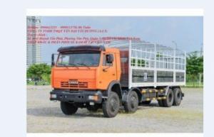 Xe tải thùng Kamaz 6540 (8x4) Loại 30 tấn