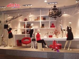 Làm hệ thống kệ trưng bày chuỗi cửa hàng