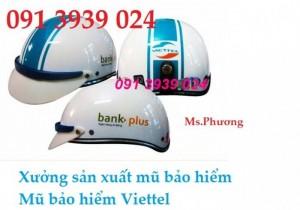 Xưởng sản xuất nón bảo hiểm quảng cáo, nón bảo hiểm TP HCM
