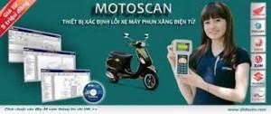 Motoscan - Thiết Bị Xác Định Lỗi Mô Tô, Xe...