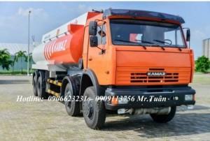 Bán xe bồn Kamaz 23m3, Xe bồn dầu Kamaz 23m3,...