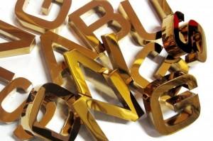 Báo giá chữ inox vàng giá rẻ