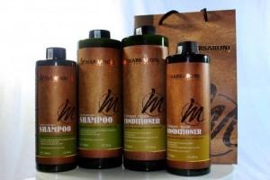Dầu gội phục hồi ngăn rụng tóc trị gàu Collagen Masaroni