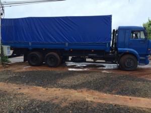 Xe kamaz 65117, 15 tấn, 3 giò, nhập nguyên con.