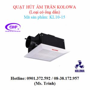 Quạt hút âm trần nối ống gió Kolowa KL10-15 giá tốt