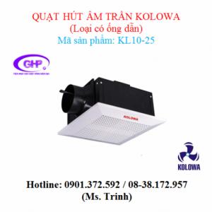 Quạt hút âm trần nối ống gió Kolowa KL10-25 giá tốt nhất