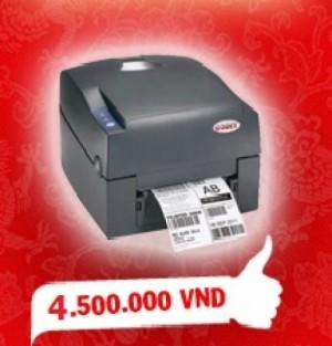 Máy in mã vạch Godex G500 hàng bán chạy nhất trên thị trường thiết bị mã vạch