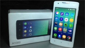 Smartphone giá rẻ Lenovo A1000