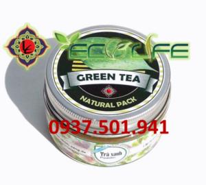 Bột trà xanh Organic Ecolife