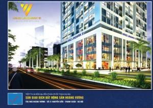 Bán căn hộ chung cư cao cấp Hà Đông giá 21 triệu/m