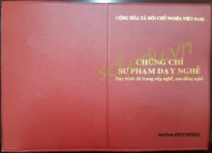 Học nghiệp vụ sư phạm dạy nghề  tại Hà Nội