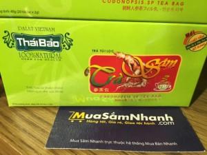 Trà Sâm túi lọc Thái Bảo, 20 tép - Đặc Sản...