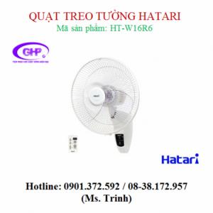 Quạt treo tường cảm ứng cao cấp Hatari HT-W16R6