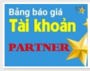 Còn ai khác muốn sở hữu tài khoản Partner?