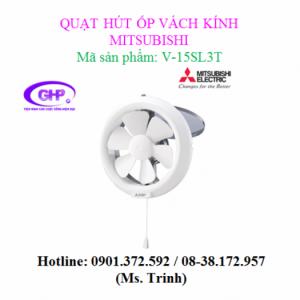 Quạt thông gió ốp vách kính Mitsubishi V-15SL3T
