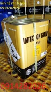 Bán muối mạ giả vàng - Imitation Gold