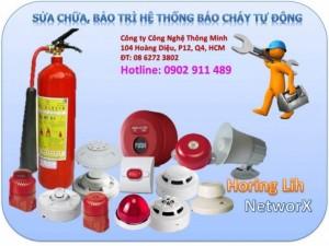 Chuyên sửa chữa thiết bị báo cháy tự động, bảo trì hệ thống PCCC cho bệnh viện, trường học, nhà trọ, khách sạn, văn phòng công ty...