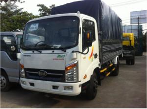 xe tải veam vt252-1 2 tấn 4 , xe tải 2.4t vào thành phố, veam vt252-1 2t4 máy hyundai , veam 2.4t thùng dài 4m1