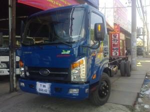 Xe tải veam vt260 1.9 tấn, veam 1t9 tấn xe vào thành phố