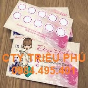 Chuyên in name card cho công ty