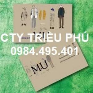 Chuyên in name card cho công ty, thiết kế đẹp mắt