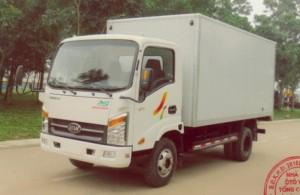Kích thước xe : Dài x Rộng x Cao :6295 x 2170 x 2980mm. Tải trọng cho phép chở :2490kG Trọng lượng toàn bộ :5575kG