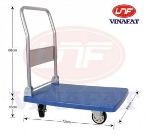 Xe đẩy hàng 4 bánh, xe đẩy sàn nhựa, xe đẩy hàng nhập khẩu, xe đẩy dùng trong văn phòng giá rẻ