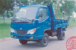 Xe tải Ben 1T5 mới 100% giá ưu đãi