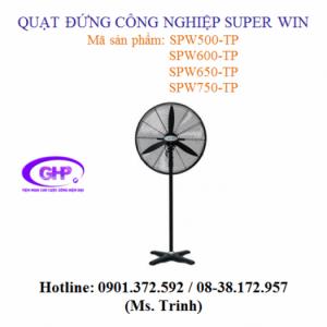 Quạt đứng công nghiệp Super Win SPW500-TP