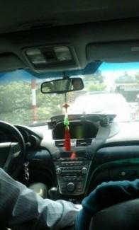 Hình ảnh nội thất của xe