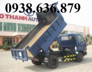 Xe BEN Hyundai:1,9T-2,5T-3,5T-5T nhập khẩu 2016, giá cực tốt>xe giao ngay