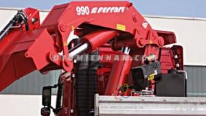 Cần Cẩu Gấp F.lli Ferrari 990R Lắp Trên Xe...