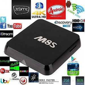 Android Tv Box M8S Ultra Hd 4K