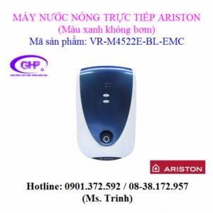Máy nước nóng trực tiếp Ariston VR-M4522E-BL-EMC màu xanh