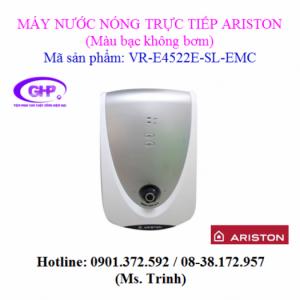 Máy nước nóng trực tiếp Ariston VR-E4522E-SL-EMC màu bạc