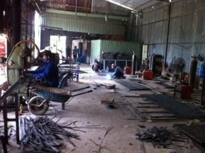 Sản xuất tấm Grating, tấm đan thép, nắp mương thép, rãnh thoát nước giá tốt