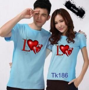 Áo thun cặp đôi (2 áo)