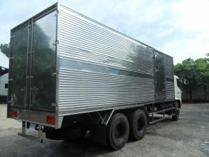 Bán Trả Góp Lãi Suất Thấp Xe Tải HiNo FL,3 Chân,16 tấn,Thùng dài 7.8M / 9.4M