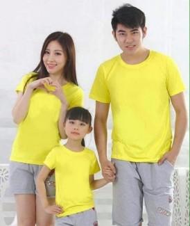 Áo gia đình (3 áo thun trơn)