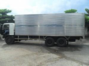 Bán xe tải HinoFL 16Tấn1 Cầu 2 Dí thùng mui bạt thùng kín Có xe giao ngay
