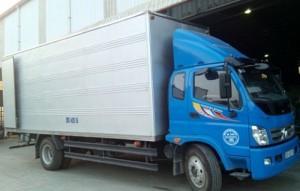 xe tải thùng chở hàng thuê