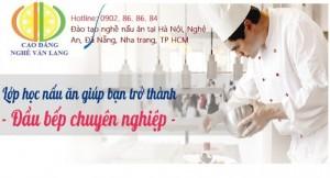 Lớp học nghề nấu ăn cấp chứng chỉ tại Hà Nội,...