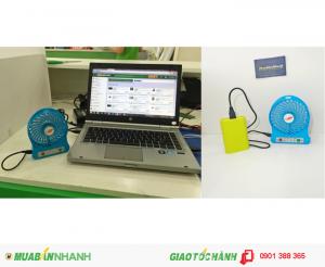 Đầu cắm USB : Có thể cắm vào Laptop hoặc pin sạc dự phòng đều được.