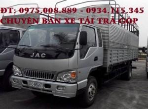 (JAC 9T1)_Bán xe tải Jac 9.1T, Jac 9Tan 1, Jac 9,1 tấn trả góp lãi thấp=Giá bán xe tải Jac