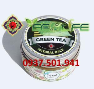 Bột trà xanh Organic Hàn Quốc Ecolife