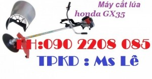Địa chỉ bán máy cắt cỏ cắt lúa honda gx35 giá rẻ nhất