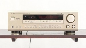 Amply Denon mặt vàng AVR 1600