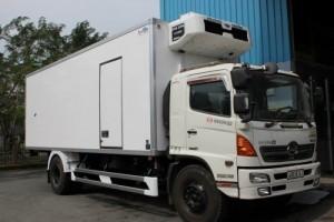 Xe HINO 6.4 Tấn thùng mui bạt thùng kín Trả Góp Lãi Suất Thấp